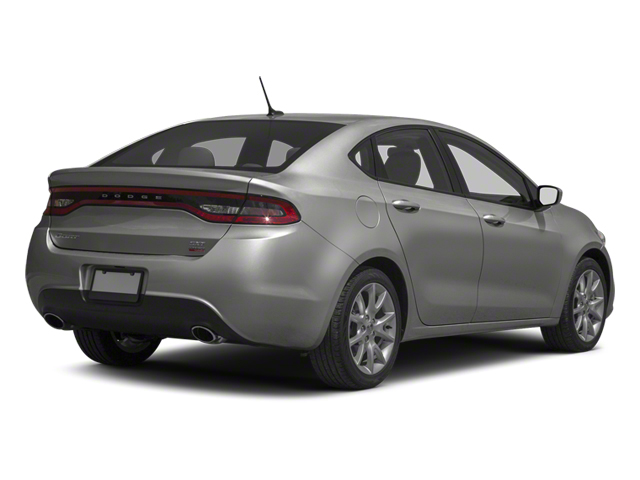 Bright Silver Metallic 2013 Dodge Dart Pictures Dart Sedan 4D GT I4 photos rear view