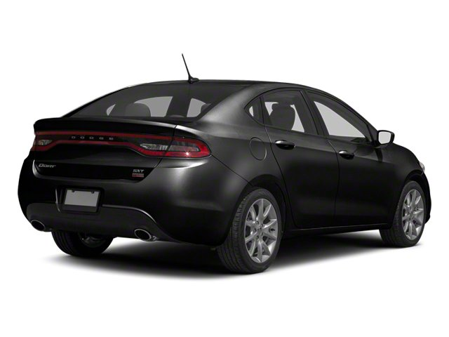 Pitch Black 2013 Dodge Dart Pictures Dart Sedan 4D Aero I4 Turbo photos rear view