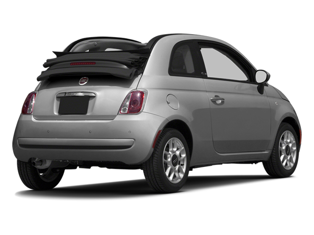 Grigio (Gray) 2013 FIAT 500 Pictures 500 Convertible 2D Pop I4 photos rear view
