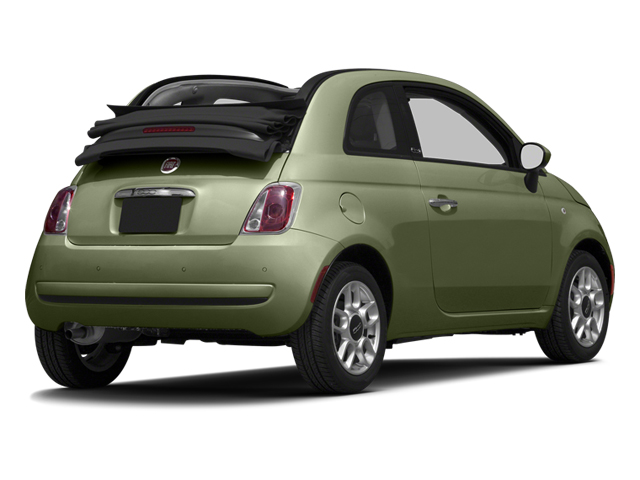 Verde Oliva (Olive Green) 2013 FIAT 500 Pictures 500 Convertible 2D Pop I4 photos rear view