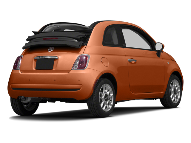 Rame (Copper) 2013 FIAT 500 Pictures 500 Convertible 2D Pop I4 photos rear view