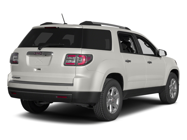 Summit White 2013 GMC Acadia Pictures Acadia Wagon 4D SLT 2WD photos rear view