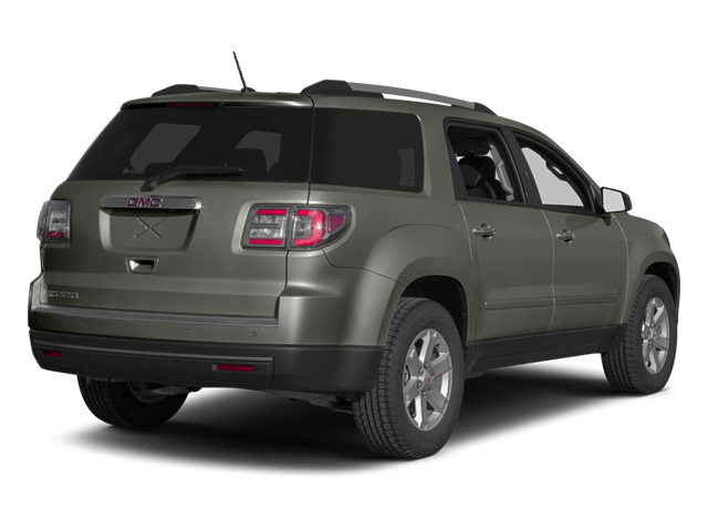Cyber Gray Metallic 2013 GMC Acadia Pictures Acadia Utility 4D SLE2 2WD photos rear view