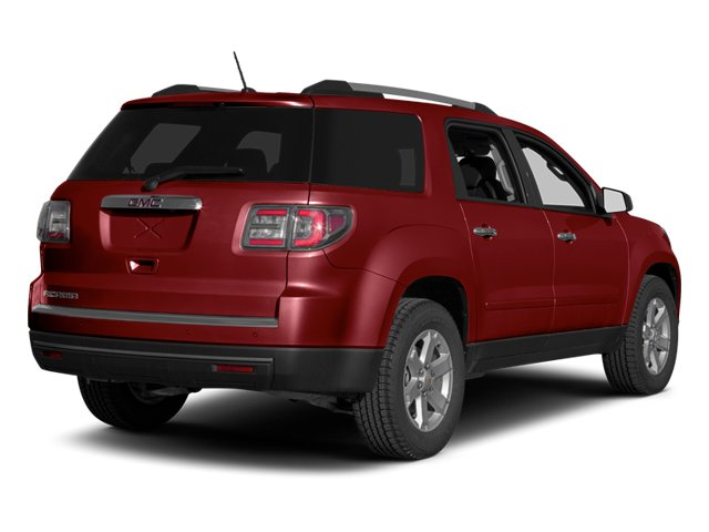 Crystal Red Tintcoat 2013 GMC Acadia Pictures Acadia Utility 4D SLT2 AWD photos rear view