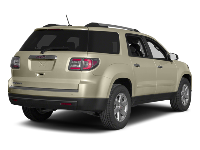 Champagne Silver Metallic 2013 GMC Acadia Pictures Acadia Utility 4D SLT2 AWD photos rear view