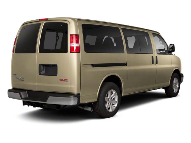 Sand Beige Metallic 2013 GMC Savana Passenger Pictures Savana Passenger Savana LT 135 photos rear view
