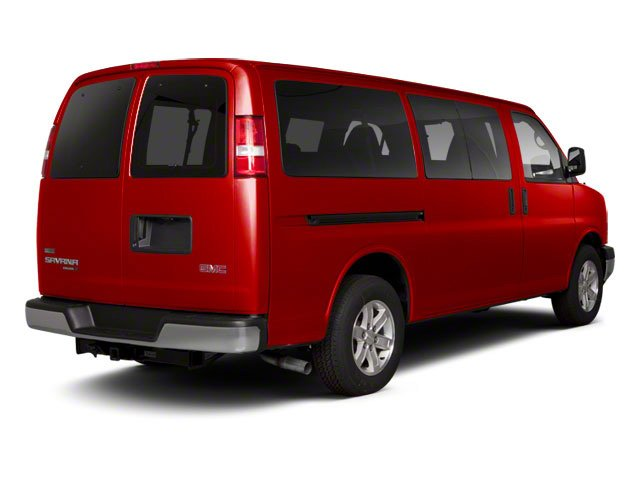 Fire Red 2013 GMC Savana Passenger Pictures Savana Passenger Savana LT 135 photos rear view