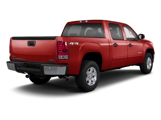 Fire Red 2013 GMC Sierra 1500 Pictures Sierra 1500 Crew Cab SL 4WD photos rear view