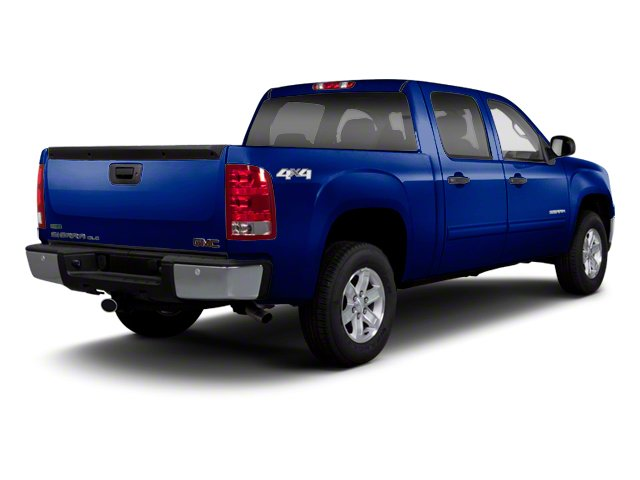 Heritage Blue Metallic 2013 GMC Sierra 1500 Pictures Sierra 1500 Crew Cab SLE 2WD photos rear view