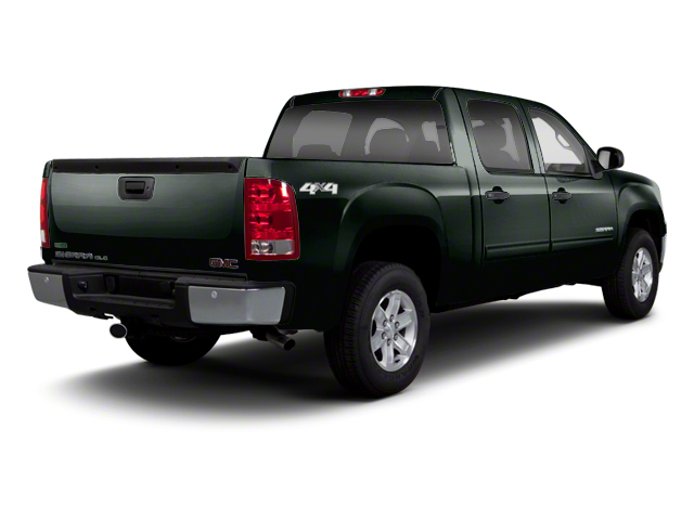 Mineral Green Metallic 2013 GMC Sierra 1500 Pictures Sierra 1500 Crew Cab SLE 2WD photos rear view