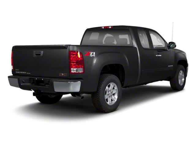 Onyx Black 2013 GMC Sierra 1500 Pictures Sierra 1500 Extended Cab SLE 4WD photos rear view
