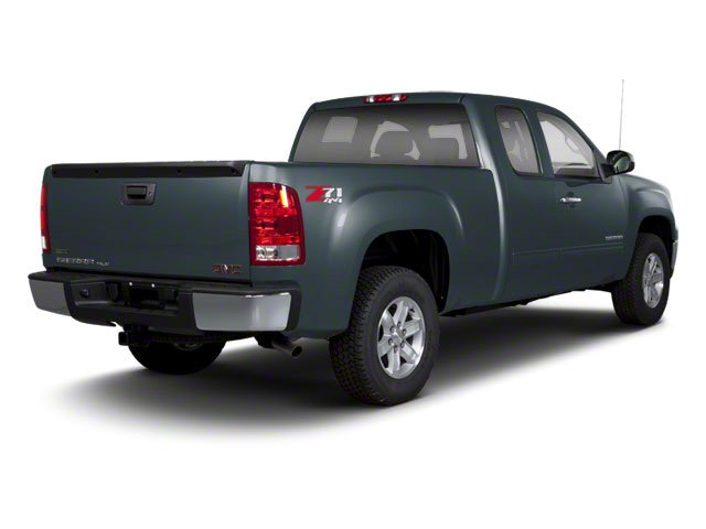 Stealth Gray Metallic 2013 GMC Sierra 1500 Pictures Sierra 1500 Extended Cab SLE 4WD photos rear view