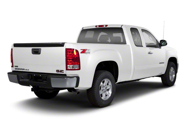 Summit White 2013 GMC Sierra 1500 Pictures Sierra 1500 Extended Cab SLE 4WD photos rear view