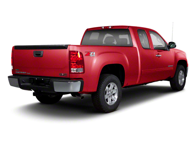 Sonoma Red Metallic 2013 GMC Sierra 1500 Pictures Sierra 1500 Extended Cab SLE 4WD photos rear view