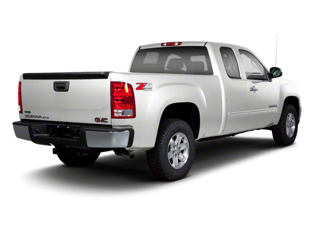 Quicksilver Metallic 2013 GMC Sierra 1500 Pictures Sierra 1500 Extended Cab SLE 4WD photos rear view