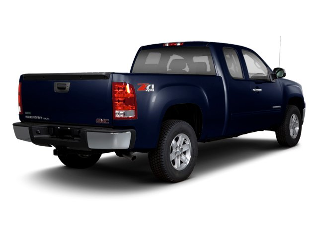 Deep Indigo Metallic 2013 GMC Sierra 1500 Pictures Sierra 1500 Extended Cab SLE 4WD photos rear view
