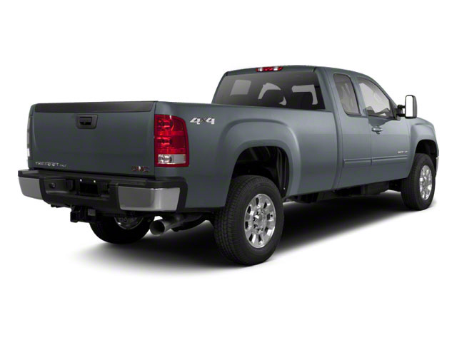 Stealth Gray Metallic 2013 GMC Sierra 2500HD Pictures Sierra 2500HD Extended Cab SLE 4WD photos rear view