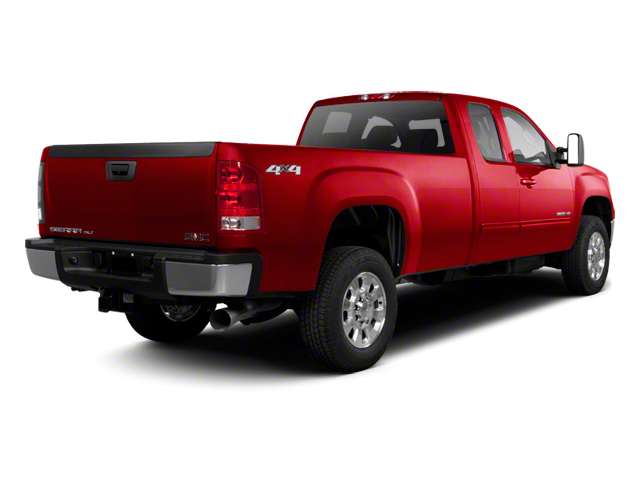Sonoma Red Metallic 2013 GMC Sierra 2500HD Pictures Sierra 2500HD Extended Cab SLE 4WD photos rear view