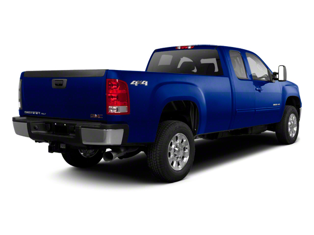 Heritage Blue Metallic 2013 GMC Sierra 2500HD Pictures Sierra 2500HD Extended Cab SLE 4WD photos rear view