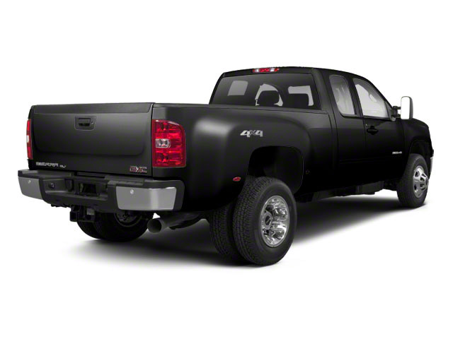 Onyx Black 2013 GMC Sierra 3500HD Pictures Sierra 3500HD Extended Cab SLT 2WD photos rear view