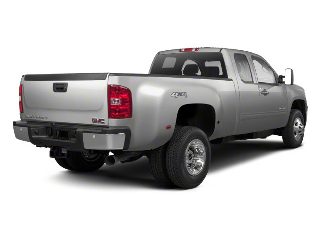Quicksilver Metallic 2013 GMC Sierra 3500HD Pictures Sierra 3500HD Extended Cab SLT 2WD photos rear view
