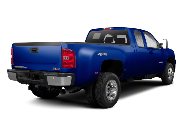 Heritage Blue Metallic 2013 GMC Sierra 3500HD Pictures Sierra 3500HD Extended Cab SLT 2WD photos rear view