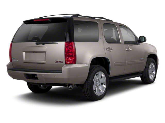 Mocha Steel Metallic 2013 GMC Yukon Pictures Yukon Utility 4D Fleet 4WD photos rear view