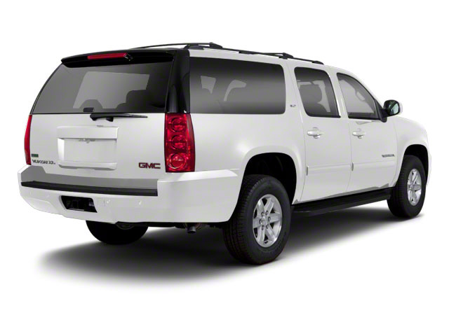 Summit White 2013 GMC Yukon XL Pictures Yukon XL Utility C1500 SLT 2WD photos rear view