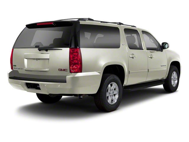White Diamond Tricoat 2013 GMC Yukon XL Pictures Yukon XL Utility C1500 SLT 2WD photos rear view