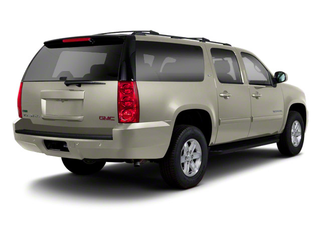 Champagne Silver Metallic 2013 GMC Yukon XL Pictures Yukon XL Utility C1500 SLT 2WD photos rear view