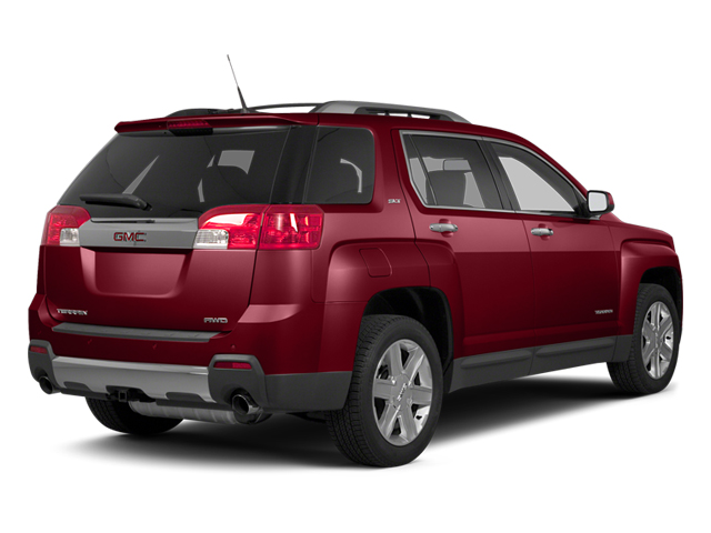 Crystal Red Tintcoat 2013 GMC Terrain Pictures Terrain Utility 4D SLE AWD photos rear view
