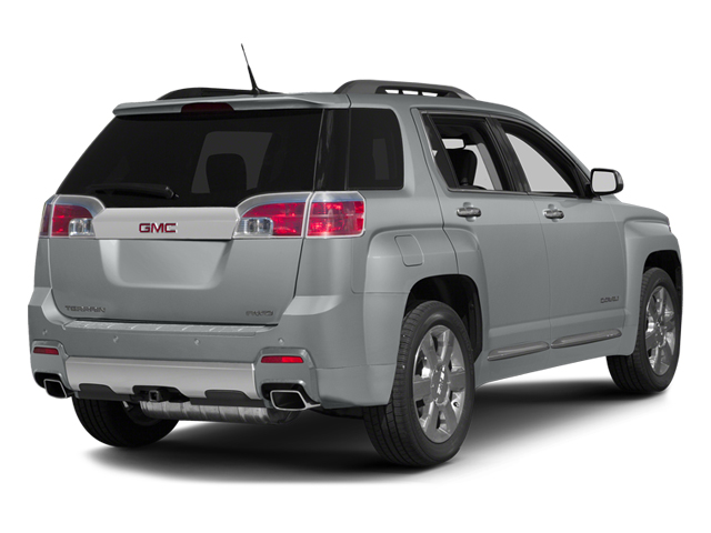 Quicksilver Metallic 2013 GMC Terrain Pictures Terrain Utility 4D Denali 2WD photos rear view