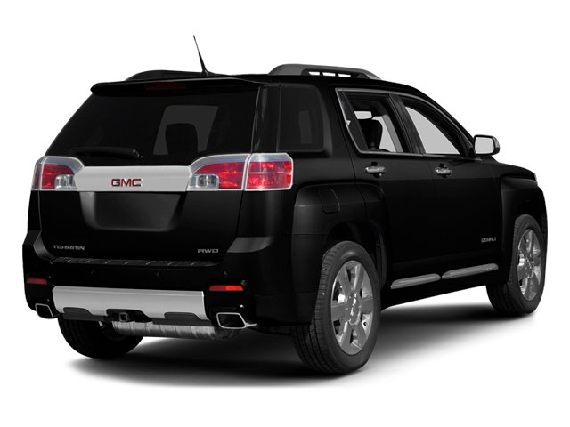 Carbon Black Metallic 2013 GMC Terrain Pictures Terrain Utility 4D Denali 2WD photos rear view