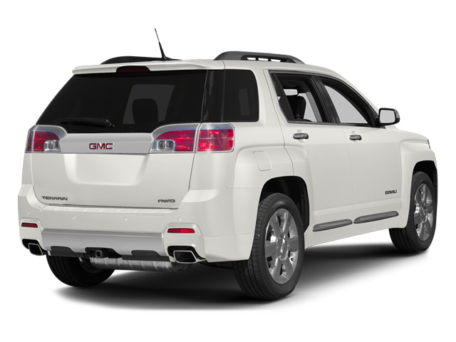 Summit White 2013 GMC Terrain Pictures Terrain Utility 4D Denali 2WD photos rear view