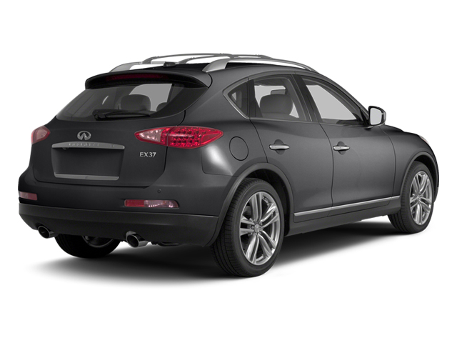 Graphite Shadow 2013 INFINITI EX37 Pictures EX37 Wagon 4D 2WD V6 photos rear view