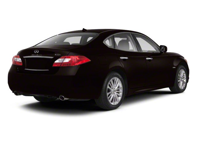 Malbec Black 2013 INFINITI M35h Pictures M35h Sedan 4D V6 Hybrid photos rear view