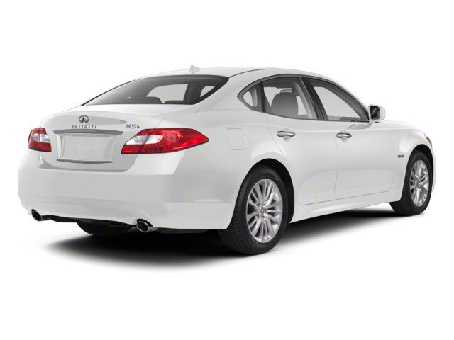 Moonlight White 2013 INFINITI M35h Pictures M35h Sedan 4D V6 Hybrid photos rear view