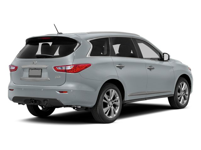 Glacial Silver 2013 INFINITI JX35 Pictures JX35 Utility 4D AWD photos rear view