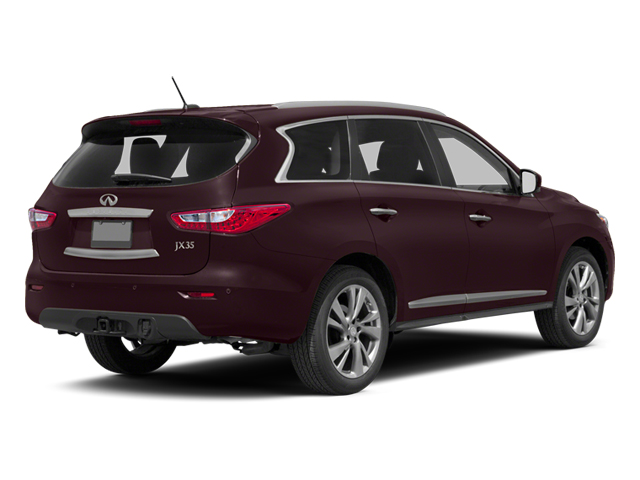 Midnight Garnet 2013 INFINITI JX35 Pictures JX35 Utility 4D AWD photos rear view
