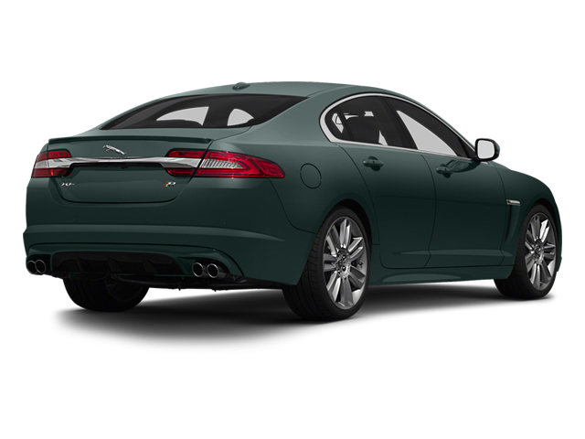 British Racing Green 2013 Jaguar XF Pictures XF Sedan 4D XFR V8 Supercharged photos rear view