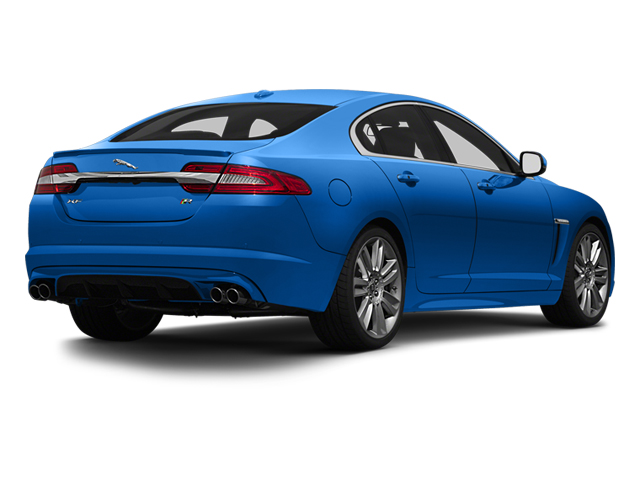 French Racing Blue 2013 Jaguar XF Pictures XF Sedan 4D XFR-S V8 Supercharged photos rear view