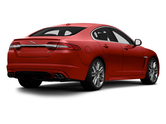 Italian Racing Red 2013 Jaguar XF Pictures XF Sedan 4D XFR V8 Supercharged photos rear view