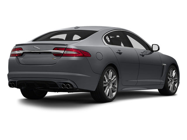 Lunar Grey Metallic 2013 Jaguar XF Pictures XF Sedan 4D XFR V8 Supercharged photos rear view
