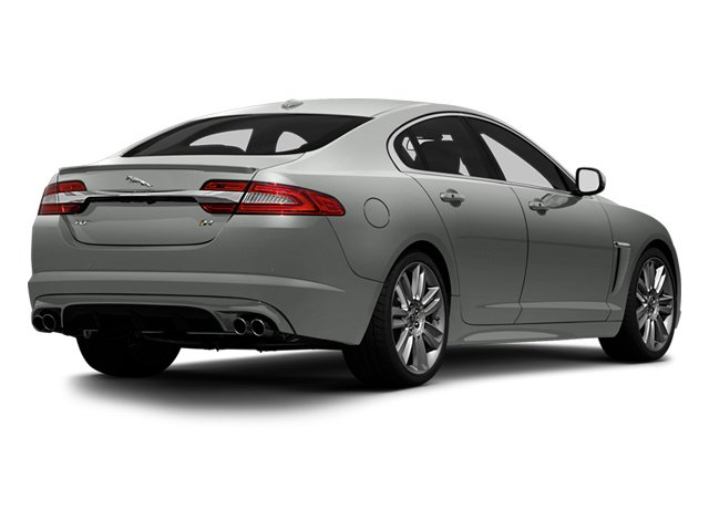 Rhodium Silver Metallic 2013 Jaguar XF Pictures XF Sedan 4D XFR V8 Supercharged photos rear view
