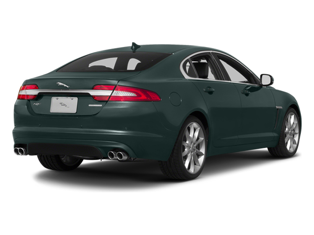 British Racing Green 2013 Jaguar XF Pictures XF Sedan 4D V8 Supercharged photos rear view