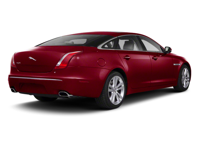 Carnelian Red 2013 Jaguar XJ Pictures XJ Sedan 4D AWD V6 photos rear view