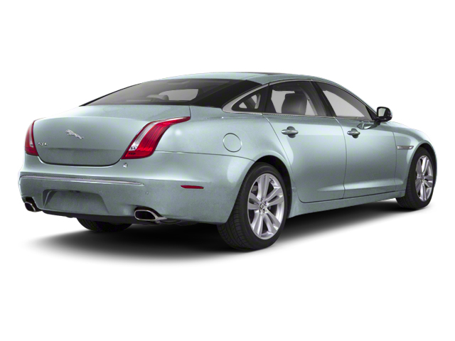 Crystal Blue 2013 Jaguar XJ Pictures XJ Sedan 4D AWD V6 photos rear view