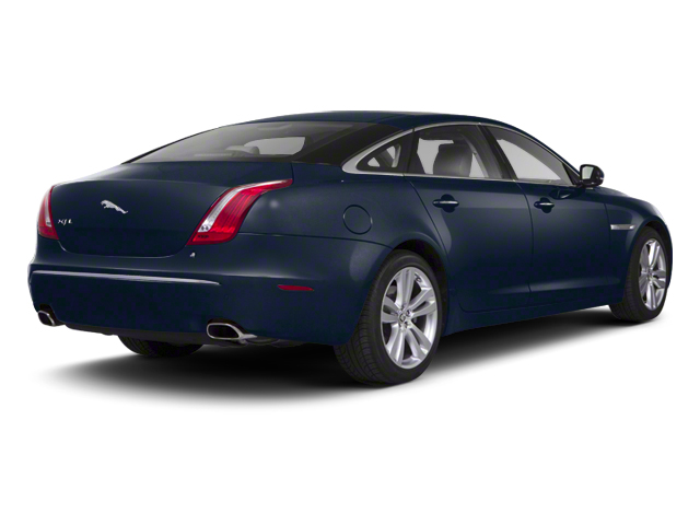 Indigo Blue 2013 Jaguar XJ Pictures XJ Sedan 4D AWD V6 photos rear view