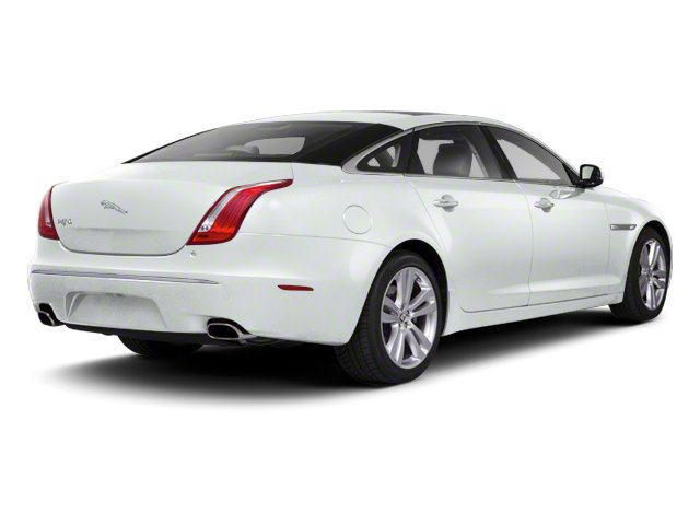 Polaris White 2013 Jaguar XJ Pictures XJ Sedan 4D AWD V6 photos rear view