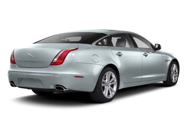 Rhodium Silver 2013 Jaguar XJ Pictures XJ Sedan 4D AWD V6 photos rear view